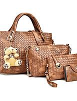 Women PU Formal Casual Event/Party Wedding Outdoor Office & Career Bag Sets