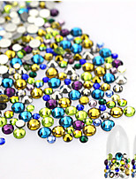 About 500pcs/bag Manucure Dé oration strass Perles Maquillage cosmétique Nail Art Design
