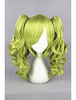 court vert unlight-sherry vague 16inch queues de cheval lolita cosplay anime perruque cs-187a