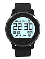 1.1inch mtk2502 relógio inteligente IP67 impermeável monitor de freqüência cardíaca pedômetro colck relógios para o smartphone android ios