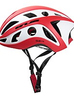 Sports Unisex Bike Helmet 22 Vents Cycling Cycling PC EPS Red