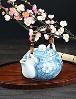 Japanese High Temperature Porcelain Sakura Flower Teapot