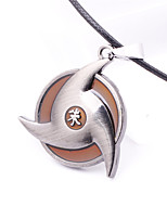 Cosplay Accessories Inspired by Naruto Cosplay Anime Cosplay Accessories Necklace Silver Alloy