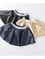 Girls' Casual/Daily Solid Skirt-Cotton Summer
