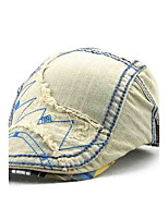 Children's Tide Cool Comfortable Cotton Han Pure Han Edition Embroidery Do Old Cowboy Sun Hat Peaked Cap