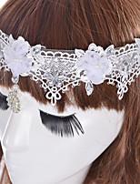 Feminino Vintage Fofo Festa Casual Tecido Todas as Estações Presilha de Cabelo,Imitação de Diamante