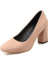 Heels Spring Summer Fall Winter Club Shoes Fleece Office & Career Party & Evening Dress Chunky Heel