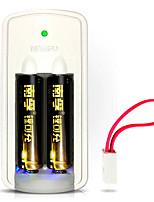 Nanfu nf-ls1 aa литиевая аккумуляторная батарея 1.5v 750mah 2 pack
