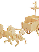 Jigsaw Puzzles DIY KIT 3D Ancient Chariot Logic & Puzzle Toys Building Blocks DIY Toys Carriage Chariot 1 Model & Building Toy