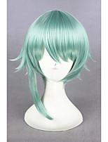 court vert clair le royaume de sommeil et 100 princes perruque cosplay anime 14inch synthétique cs-273D