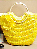 Women Straw Casual Outdoor Tote