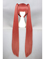 Longue gugure droite! Kokkuri san perruque cosplay watermelon rouge synthétique 40inch anime cosplay cheveux coiffure perruque cs-227a
