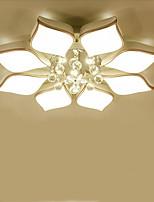 Montagem do Fluxo ,  Contemprâneo Tradicional/Clássico Cromado Característica for LED MetalSala de Estar Quarto Sala de Jantar Quarto de