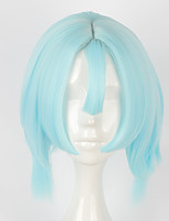 Cosplay Wigs Cosplay Cosplay Blue Short Anime Cosplay Wigs 40 CM Heat Resistant Fiber