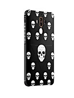 For Huawei Mate 9 Mate 9 Pro Case Cover Shockproof Frosted Embossed Pattern Back Cover Skull Soft Silicone Honor 6X Mate 8 Mate 7 Nove