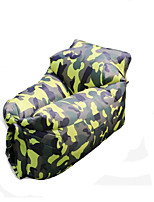 New Children's Outdoor Sofa Portable Lazy Sofa Folding Inflatable Bed Beach Lazy Air Sofa Bed Sleeping Bag