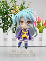 Anime Action Figures Inspired by No Game No Life Cosplay PVC 10 CM Model Toys Doll Toy 1pc