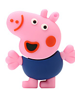 64GB piglet George rubber USB2.0 flash drive disk