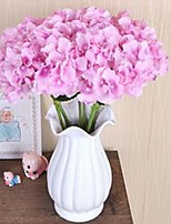 1 Branch Fiber Hydrangeas Tabletop Flower Artificial Flowers