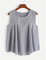 ebay AliExpress new striped vest shirt