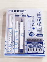 Pen Pen Fountain Pens Pen,Plastic Barrel Blue Ink Colors For School Supplies Office Supplies Pack of