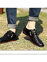 Men's Loafers & Slip-Ons Spring Gladiator Rubber Casual Flat Heel Black Walking