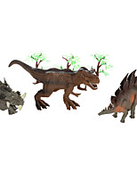 Jouet Educatif Maquette & Jeu de Construction Dinosaure Plastique