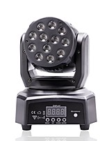 U'King® 48W 12LEDs RGB Moving Head Stage Effect Light 8-11CH DMX Master-slave Mode 1pcs