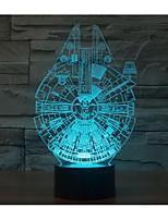 Звездные войны в одну тысячу сокола 3 г светло-yakeli стерео свет привел красочный градиент атмосферу лампы