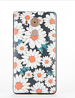 For Huawei Mate 9  Mate 8 Pattern Case Back Cover Case Flower Soft TPU
