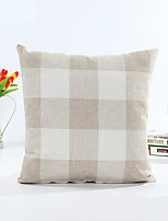 1 pcs Cotton Pillow Case,Striped Geometric Modern/Contemporary Traditional/Classic
