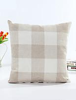 1 pcs Coton Taie d'oreiller,Rayé Géométrique Moderne/Contemporain Traditionnel/Classique