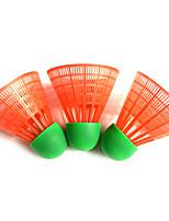 5pcs Badminton Volants Haute élasticité Durable pour Extérieur Sport de détente Plastique