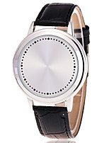 Women's Cool Fashion LED Luminous Watches Han Edition Tide Geneva Quartz Watch
