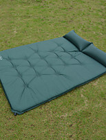 Moistureproof/Moisture Permeability Inflated Mat Camping Pad Green Blue Hiking Camping