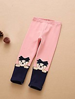 Girls' Casual/Daily Print Pants Spring