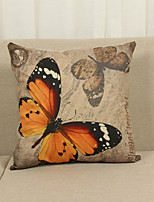 1 Pcs Butterfly 45cm*45cm Soft Decorative Pillow Cover