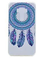 For Asus ZenFone 3 (ZE552KL)(5.5) ZE520KL(5.2) Dreamcatcher Pattern Soft TPU Material Phone Case