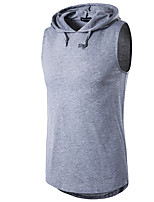 Men's Casual/Daily Street chic T-shirt,Geometric Round Neck Short Sleeve Polyester