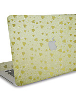 For MacBook Air 11 13/Pro13 15/Pro with Retina13 15/MacBook12 Flash Love Texture Decorative Skin Sticker