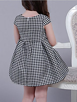 Girl's Casual/Daily Polka Dot Dress,Polyester Summer Sleeveless