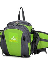 25 L Sling & Messenger Bag Backpack Waist Bag/Waistpack Waterproof Compact Multifunctional Green Pink Black Blue Nylon