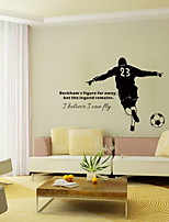Words & Quotes Sports Wall Stickers Plane Wall Stickers Decorative Wall Stickers,Vinyl Material Home Decoration Wall Decal