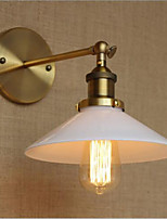 AC 110-130 AC 220-240 40 E26/E27 Modern/Contemporary Country Retro Antique Brass Feature for Mini Style Bulb Included Ambient Wall Lighting