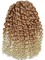 1 Pack 8inch Brown Beige Mix Curly Afro Kinky Mali Bob Braids Hair Extensions Kanekalon Hair Braids 30g (5-6packs/head)