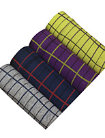 4Pcs/Lot Men's Fashion Sexy Plaid Boxers Underwear Cotton Soft Panties