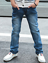 Boys' Casual/Daily Solid Jeans Fall