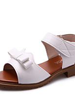Women's Sandals Summer Mary Jane Leatherette Outdoor Dress Casual Flat Heel Walking