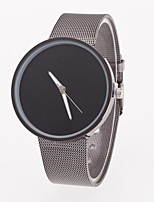 Women's Fashion Contracted Wire Mesh Belt Geneva Quartz Watch