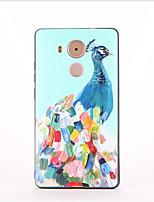 Para Estampada Capinha Capa Traseira Capinha Animal Macia TPU para Huawei Huawei Mate 9 Huawei Mate 8
